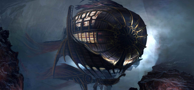 The Secrets of the Airship Divinity